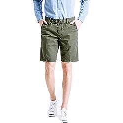 UFACE Kurze Hosen Herren Sommer, Beiläufige Gedruckte Taschen-Strand-Arbeits-zufällige Männer der Männer Kurze Hosen-Kurzschluss-Hosen