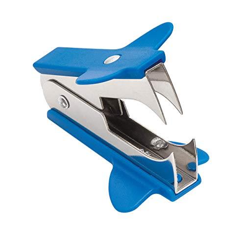 Wedo 10481203 Enthefter KLAX, ohne Feststeller, durchgehende Kunststoffschale, blau