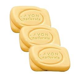 Avon Naturals Bath Soap - (Papaya) - set of 3