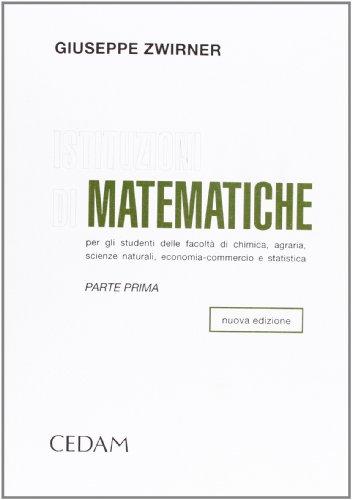 Istituzioni di matematiche: 1