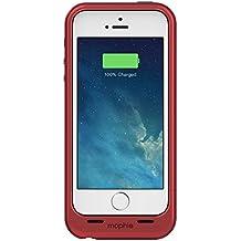 mophie Juice Pack Plus Schutzhülle mit integriertem Akku (2100mAh) für iPhone 5/5s – Rot