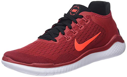 NIKE Herren Laufschuh Free Run 2018 Sneakers, Mehrfarbig (Gym Bright Crimson/Black/Team Red 001), 43 EU