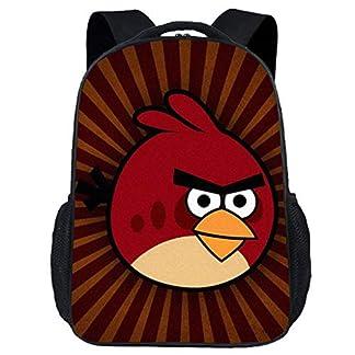 4171b4frHWL. SS324  - Gucili Mochila para Niños, 17 Pulgadas Dibujos Animados Pájaro Kindergarten Estudiante Mochila Escolar Viaje Al Aire Libre Niñas Mochila Ligero Impermeable Poliéster Negro Bolsa
