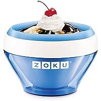 Zoku ICE CREAM Maker Blue-Ice Cream-Sorbet-Frozen yoghurt in 10Minutes