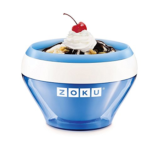 4171b9n4g2L. SS500  - Zoku ZK120-BL Ice Cream Maker, Stainless_Steel, Blue