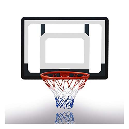 XINGLIAN Kinder An Der Wand Montiert Basketballbrett Backboard Net Set Hängend Basketballkorb Draussen Basketball-Training 80x60cm