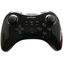 Yandroix Mando Wii U Pro inalámbrico para Nintendo Wii U gamepad Wireless controller Negro