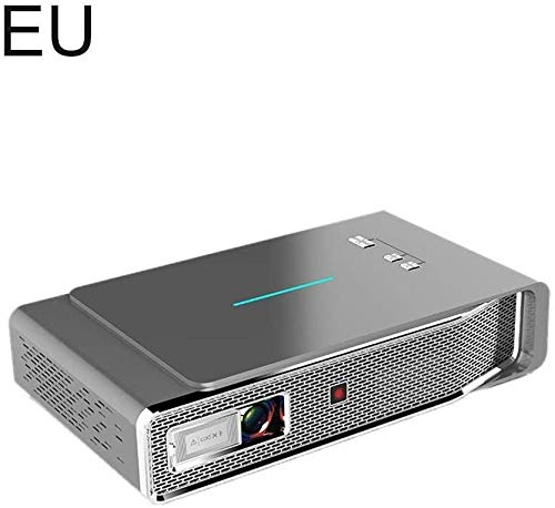 Sweet Professionelle Projektor Tragbare Mini-Videoprojektor 3D Dlp Praktische Projektor HD 4K 5000 S Wireless-Bildschirm Für Dual-Band-WLAN-Keystone-Korrektur HDMI- / Tf