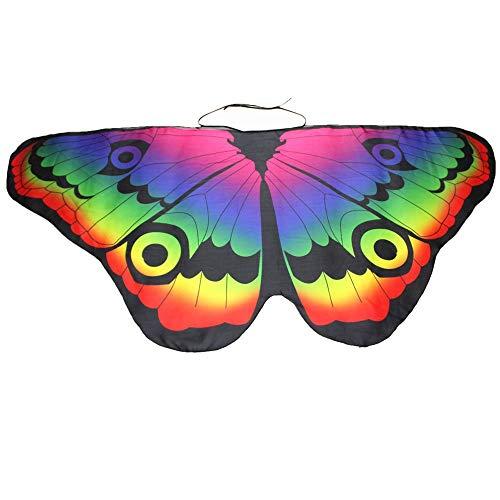 Wings Kostüm Kinder Butterfly - Oyedens Kind Kinder Jungen Mädchen Karneval Kostüm schmetterlingsflügel Kostüm Faschingskostüme Butterfly Wing Cape Kimono Flügel Schal Cape Tuch
