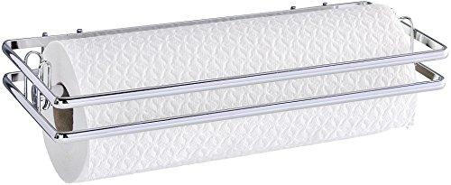 Wenko 54823100 Küchenrollenhalter Style-Wandrollenhalter, verchromtes MetalLiter 32 x 4 x 13 cm, silber glänzend Test