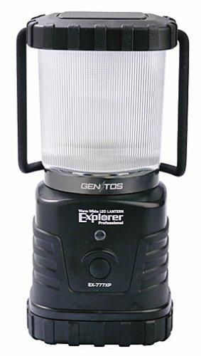 ジェントス LEDランタン エクスプローラー プロフェッショナル 【明るさ280ルーメン/連続点灯72時間】 EX-777XP