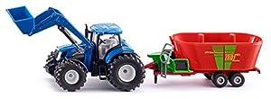 SIKU 1988 Modelo de Juguete Tractor 1:50 - Modelos de Juguetes (Tractor, 1:50, Multicolor, Metal, 320 mm, 65 mm)