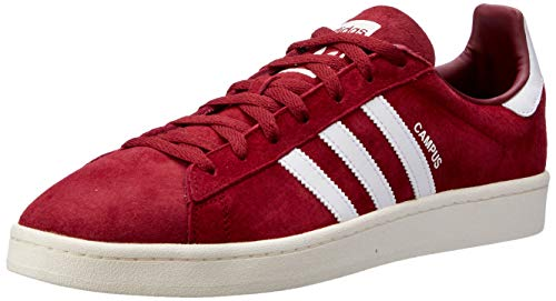 adidas Herren Campus Sneaker, Rot, 45 1/3 EU