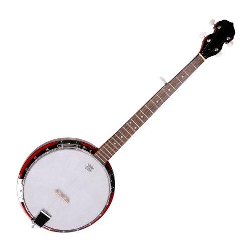 Classic Cantabile BB-15 Bluegrass Banjo 5-Saitig (Korpus: Sapelli-Mahagoni, Griffbrett und Sattel: Palisander, Remo Fell)