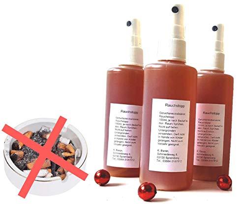Weg mit dem Kalten Rauch! Ökologischer Geruchsvernichter - Geruchskiller - AntiRauch -...