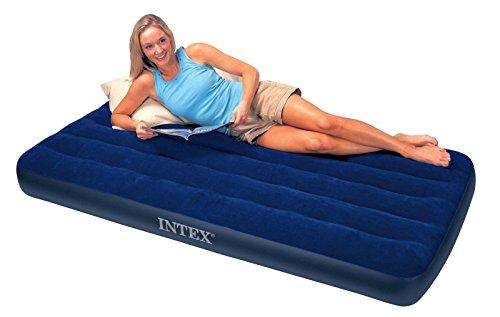 Intex 68757Twin Größe Classic Downy Luftbett aufblasbare Matratze Wasserdicht -