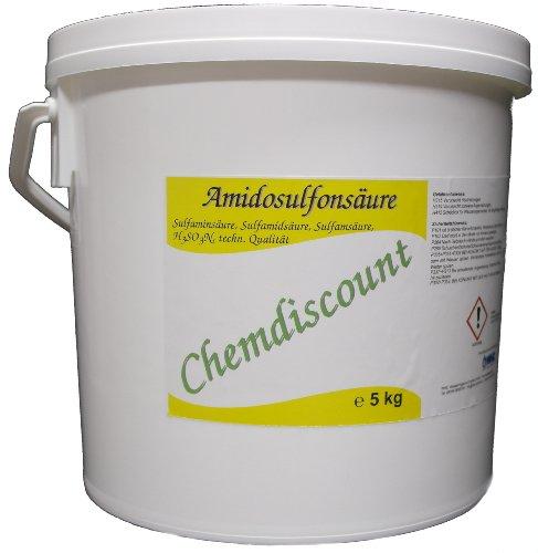 5kg reine Amidosulfonsäure (z.B. als Entkalker für Kaffemaschinen) versandkostenfrei!