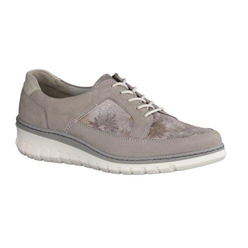 Waldläufer 690001-300-334, Chaussures À Lacets Grises