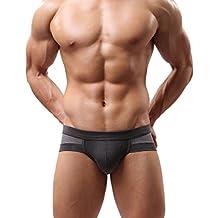 Malloom® Uomo Sexy Mutande Cotone Intimo Boxer Uomo Slip Morbidi
