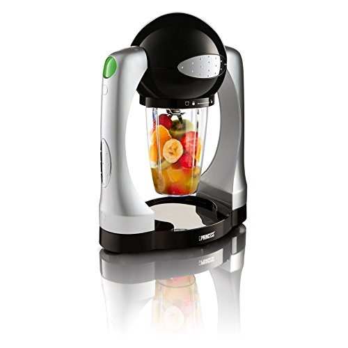 Princess 212063 Smoothie Maker – Smoothie pronti da bere – Potenza turbo – Nero