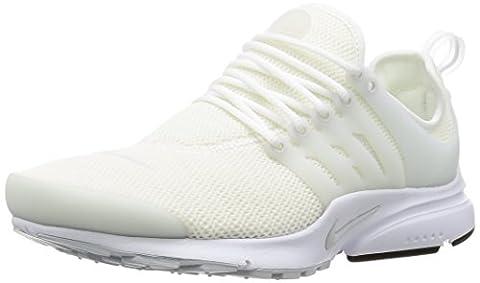 Nike W Air Presto, Chaussures de Sport Femme, Blanc Cassé-Blanco (White / Pure Platinum-White), 38 EU