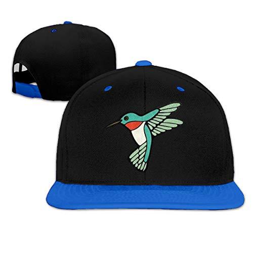 Osmykqe Green Hummingbird Low Profile Baseball Caps Einstellbare Mütze - Sonnenschutz Green Low Profile Cap