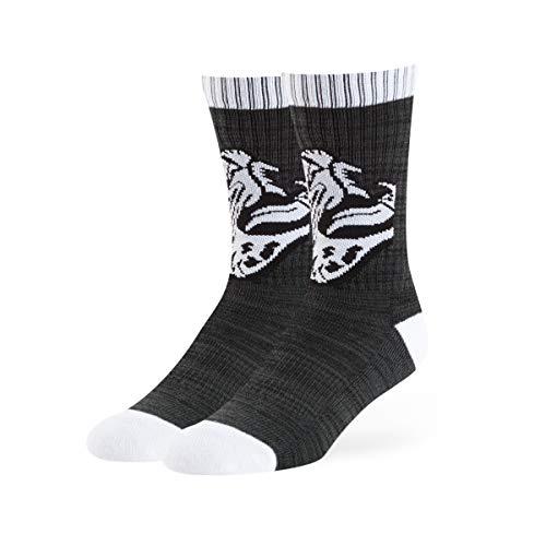 NFL Jacksonville Jaguars OTS Herren-Sport-Socken, Schwarz, Größe L