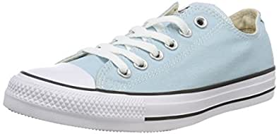 Converse Ctas Ox Sneaker Unisex Adulto Blu Ocean Bliss 456 46 EU