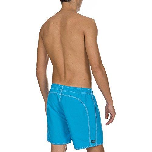 Arena Fundamentals Solid Short de bain pour homme Turquoise/Asphalt