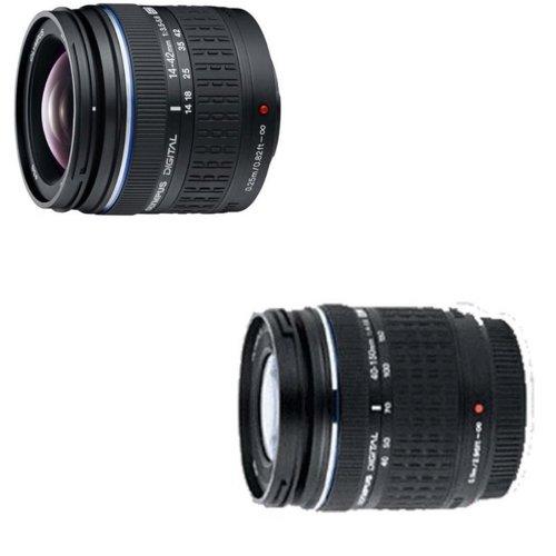 Olympus E-520 SLR-Digitalkamera (10 Megapixel, LifeView, Bildstabilisator) Kit inkl. 14-42mm & 40-150mm Objektive - 2