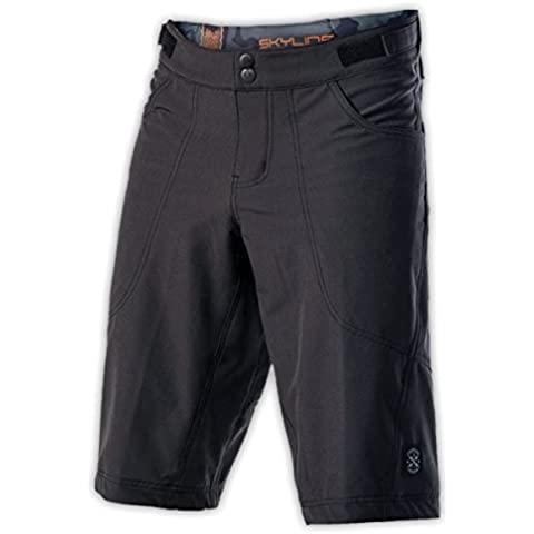Troy Lee adultos pantalones cortos de diseño, colour negro, S, CT565022424