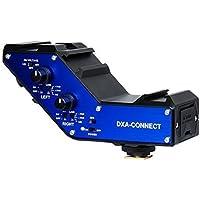 Beachtek DXA-CONNECT Adaptateur audio XLR/mixette pour reflex numérique et caméra avec alimentation fantôme et double entrée XLR