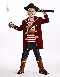 glooke selected-374185traje Pirata M para niño, Multicolor 8-Inox, 374185