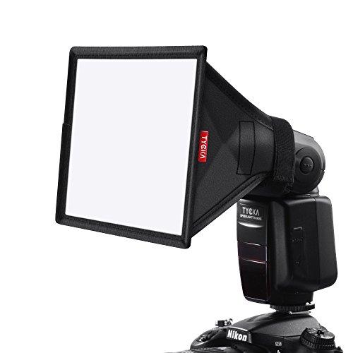 TYCKA 6 x 5' Blitzlicht Softbox Diffusor (universal, zusammenklappbar) für Nikon, Canon, Sigma, Sony, Yongnuo