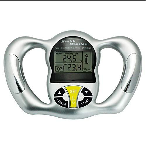 IOIOA Elektronischer digitaler Handheld-BMI-Monitor - Body-Mass-Index-Analysegerät mit LCD-Anzeige, BMI-Fettanalyse-Handheld, 6 Sekunden genaue Fettanzeige Handheld-lcd-monitor