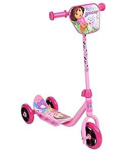 Dora 3 Wheel Scooter, Pink