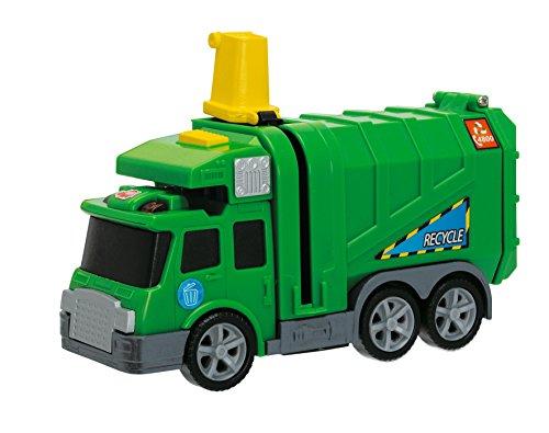 Dickie Spielzeug 203413572 - Action Series City Cleaner, Länge 15 cm, grün