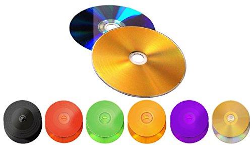 6 Stück Kronenberg24 Vinyl Collection DVD Rohling violett/gold 4,7GB