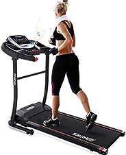 Sparnod Fitness STH-1200 (3 HP Peak) Automatic Treadmill (DIY Installation) - Foldable Motorized Treadmill for