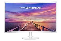 Samsung C32F391 80 cm (32 Zoll) Curved Monitor, weiß