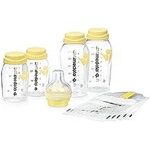 Medela 0080384 - Set de recogida y alimentación, color blanco/amarillo