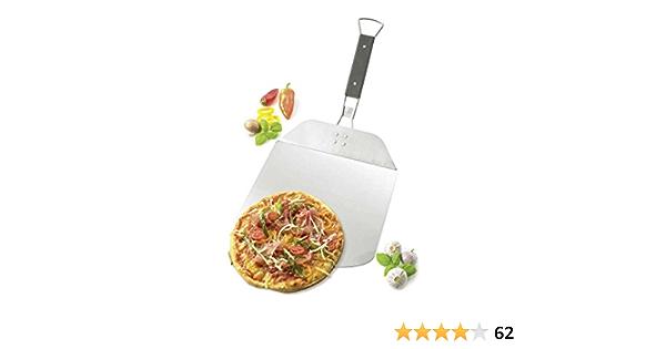 Flammkuchen und mehr Gastronomie-Qualit/ät Profi Alu Pizzaschaufel mit Holzgriff Pizzaschieber Brotbackschieber 100 cm f/ür Pizza