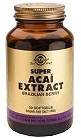 Solgar SUPER ACAI Extract 150mg - 50 Softgels - EU-Compliant