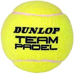 Pelotas Pádel Dunlop TEAM Pádel