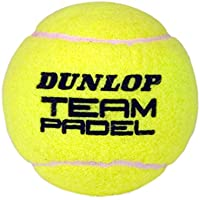 Dunlop Pelotas Pádel TEAM Pádel