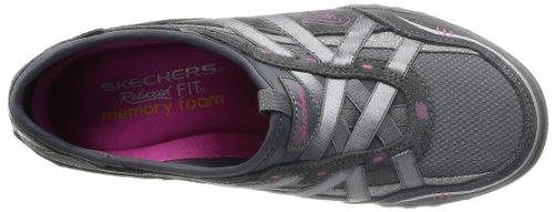 Skechers Breathe-Easy Damen Sneakers Grau (Ccl)