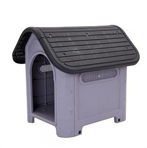 Bonito-Plástico-Polly de caseta de perro adecuado tanto para interiores y exteriores-perfecto para perros con alergias