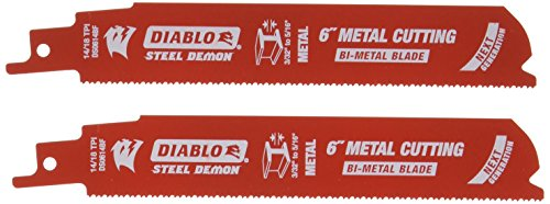 Tpi Bi-metal Reciprocating Saw (Freud ds0614bf2Diablo Stahl Demon 15,2cm 14/18TPI (Full Body), 15,2cm)