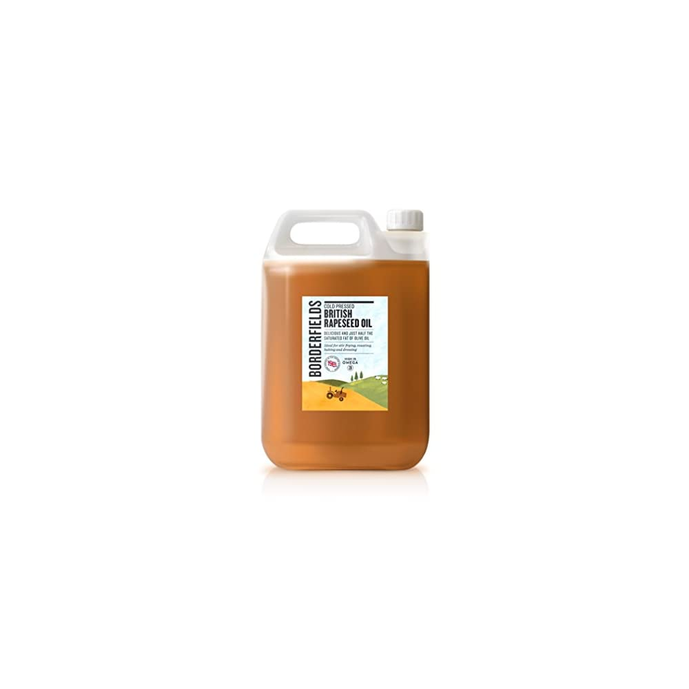 Borderfields British Premium Kalt Gepresstes Rapsl 5 Liter