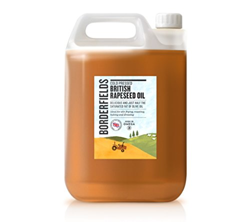 borderfields británico Premium prensado en frío aceite de colza 5litros